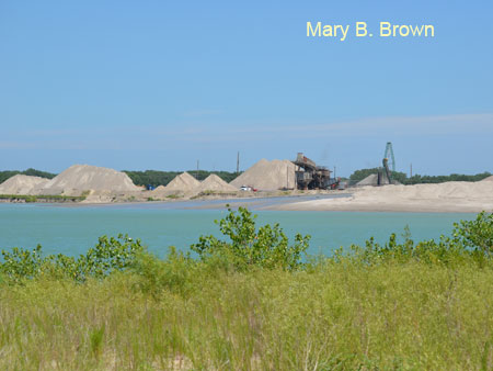 Sand Gravel Mine Operation
